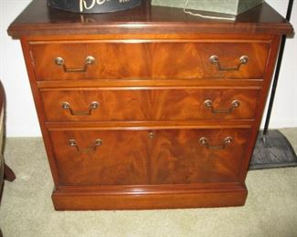 file chest-2 drawers and one file drawer
