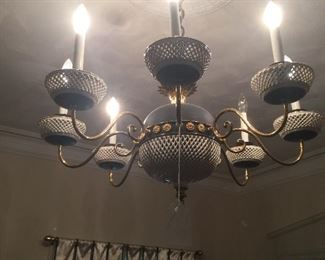 Great six light chandelier