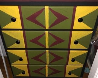 Painted chest & game systems