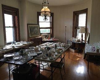 Antiques, cookware, porcelain