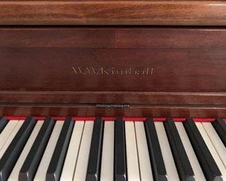 WW. Kimball Piano