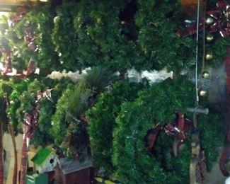 Assorted Christmas wreaths