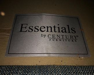 ESSENTIALS BY CENTURY FURNITURE COUCH AND LOVESEAT