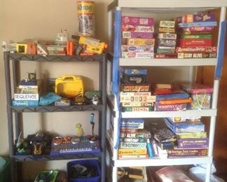 Games....vintage and new.  Board games and cards