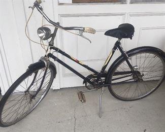Vintage J.C. Higgins bicycle