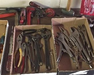 Hand tools: screwdrivers, wrenches, pliers, hammers & more