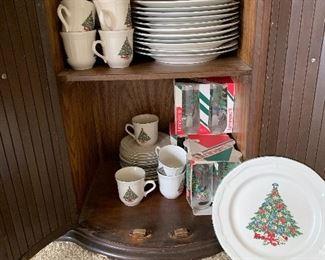 Christmas china
