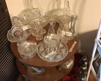 Crystal baskets