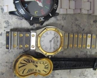 Many faux watches