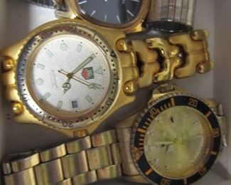 Faux Tag and Rolex