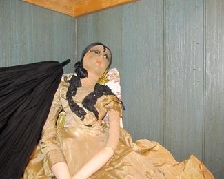 large Spanish Marionette