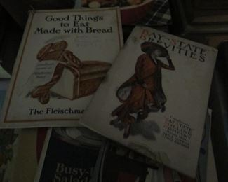 Many early Cookbooks