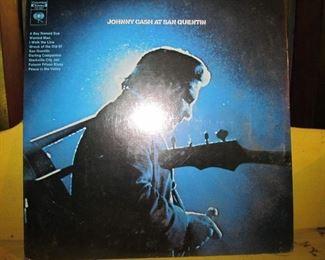 Sealed Johnny Cash , San Quentin Album