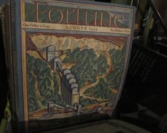 Fortune Mags from 1934 to 36
