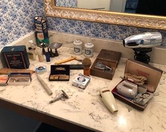 Vintage Razors, shavers and more