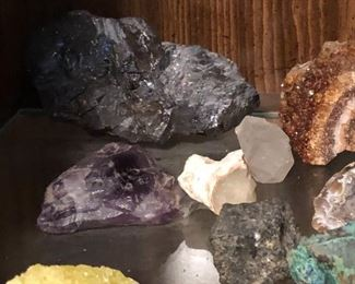 Mineral and Rock collection