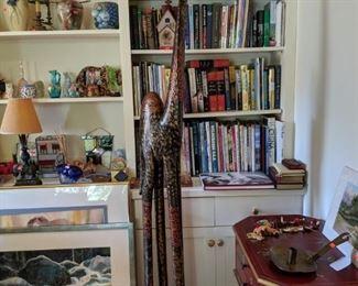 Folk Art Canel Aporox. 6' Tall!