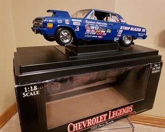Extensive collection of Action die cast cars