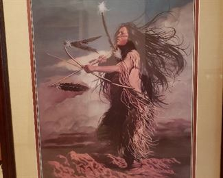 """Penni Anne Cross """"Dance Apache"""" print. Signed and numbered"""