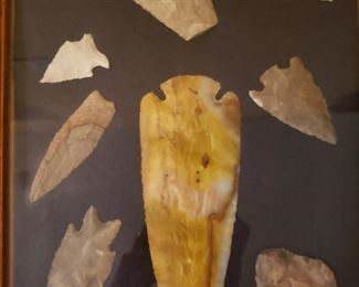 HUGE collection of arrowheads