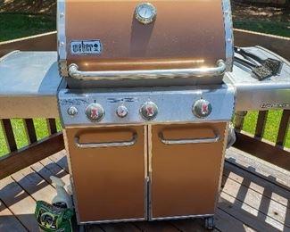 Weber Genesis gas grill