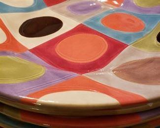 Dinner plates from Pier 1