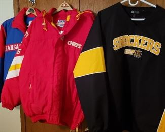 Shocker, Chiefs and KU apparel