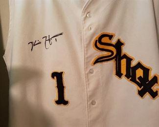 Signed Shocker baseball shirt