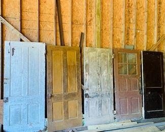 1800's Doors out of Farmhouse in Hanover Va