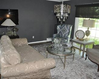 Gorgeous living room perfect for entertaining!!