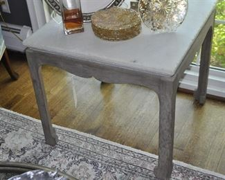 Up close view of the wonderful side table!