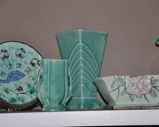 More gorgeous McCoy and Marjolica pottery