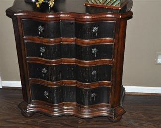 Great detail on the Ethan Allen chest!