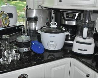 Great selection of small appliances including Breville, Hamilton Beach and , Cuisinart