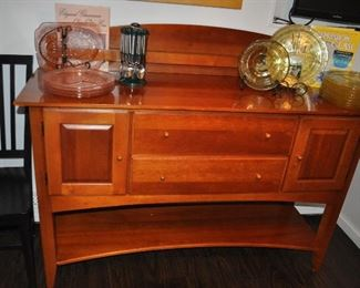 """Impressions by Thomasville Buffet Server with two drawers, 68""""w x 39""""h x 19""""d"""