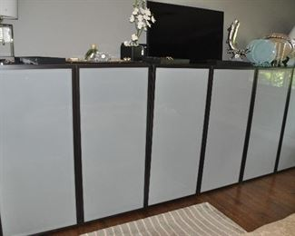 """Set of 3 Ikea cabinets perfect for all your storage needs.  Each measure 47.25""""w x 51""""h x 16.5""""d"""