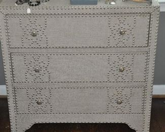 Wonderful detail work on the chest of drawers!