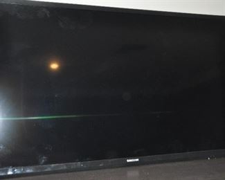 """Another TV available, Samsung 38"""" screen"""