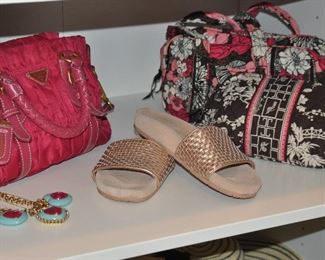 More Vera Bradley and Prade-like pink handbag