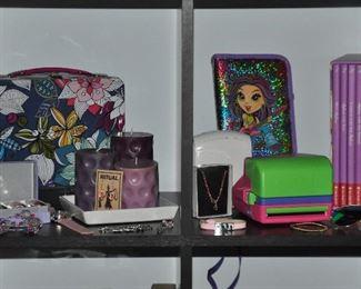 American Girl books, Polaroid camera, and more great accessories