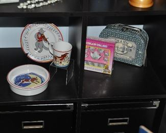 """Tiffany & Co. 3-pc. child's """"Hey Diddle Diddle"""" and child's tea sets"""