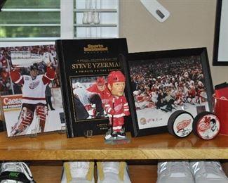 Great Detroit Red Wing memorabilia!