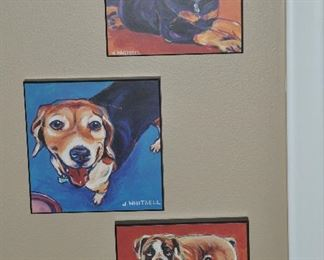 More of the adorable  J. Whitsell dog prints