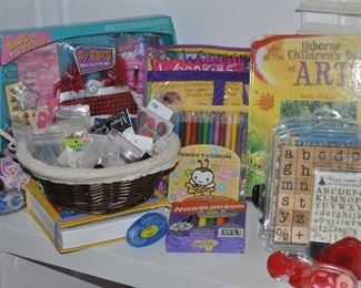 Craft supplies for all ages,