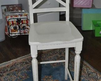 Pier1 bar stools are great work table chairs.