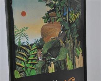 """1991 Ann Arbor Summer Festival, framed poster, 24""""x 34"""""""