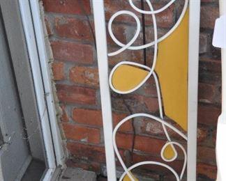 "Fabulous iron garden art!! 10.25"" x 36"""