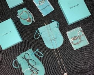 Fantastic collection of Tiffany & Co. jewelry