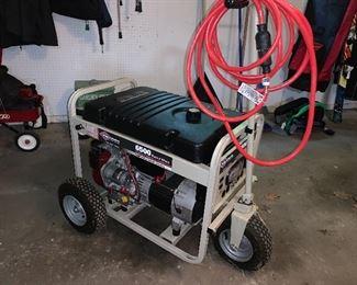 Fantastic Briggs and Stratton 6500 portable generator