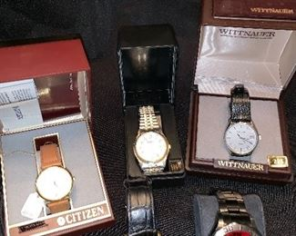 Many great men's watches available